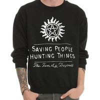 Supernatural Family Business Crew Pullover