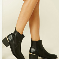 High-Polish Ankle Booties
