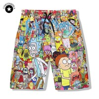 Rick And Morty Printed Men's Shorts Sportswear