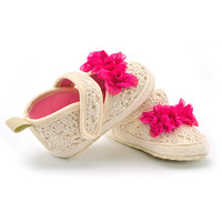 Crochet Crib Shoes