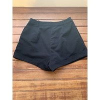 Black High Rise Shorts (M)