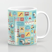 Parks and Recreation Mug by Kitkat Lastimosa
