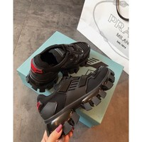 Prada Cloudbust Thunder Black Sneakers - Best Online Sale