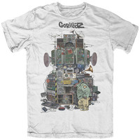 Gorillaz- Multi Boomboxes T-shirts at AllPosters.com