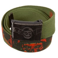 Avenged Sevenfold - Soldier Bat Canvas Belt