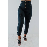 Break Away Jeans: Black