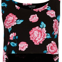Rose Cropped Tank Top - New In This Week - New In - Topshop