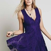 Free People Womens Reign Over Me Sleeveless Dress