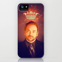 Crowley - Supernatural iPhone & iPod Case by KanaHyde