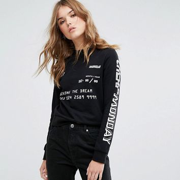 Cheap Monday Type Graphic Sweatshirt at asos.com