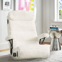 Ivory Sherpa Got Game Chair