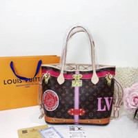 LV Louis Vuitton Hot Sale Women Leather Handbag Tote Shoulder Bag Purse