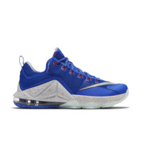 Nike LeBron XII Low Men's Basketball Shoe Size 10 (Blue)