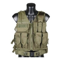 New Tactical Vest Waterproof Outdoor Military Army Training CS Game Combat Vest