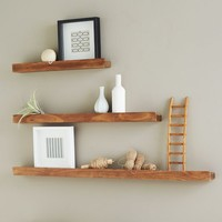 Deep Picture Ledge - Salvaged Wood