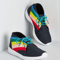 Statement Left, Bright, and Center Sneaker