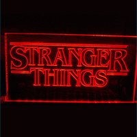 FREE Stranger Things LED Neon Sign
