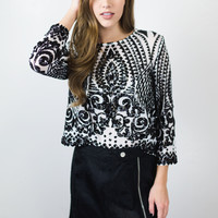 One In A Million Sequin Top