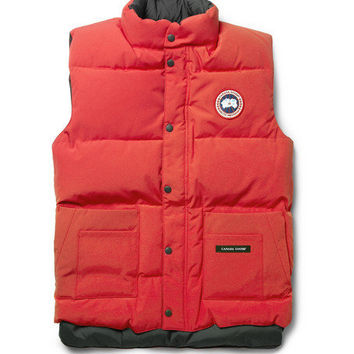 Canada GooseFreestyle Down-Filled Quilted Gilet MR PORTER