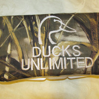 New Handmade max 4hd camo camouflage ducks unlimited inspired travel wipe case