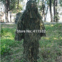 5pcs/set camo chille yowie sniper tactical camouflage suit ghillie suit for paintball hunting