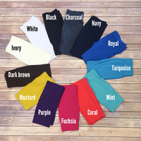 Capri Leggings (choose color)
