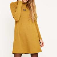 Urban Outfitters Ribbed Crewneck Dress - Urban Outfitters