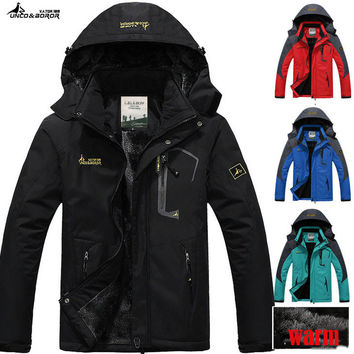 jaqueta masculina men's casual thick outwear overcoat Winter jacket Men Windproof Hood parka mens jackets and coats windbreaker