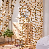 Metallic Petal Vine Garland Backdrop | Urban Outfitters