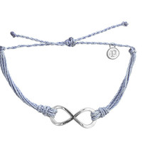 Silver Infinity Columbia Blue