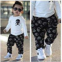 2 PC Skull Shirt and Pants
