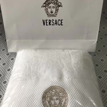 Versace Bath towel + Towel Suit