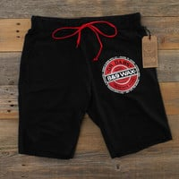Dr. Dabs Terry Shorts Black