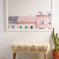 Kimberley Dhollander Dreamy Houses Art Print | Urban Outfitters