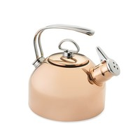 Chantal Copper Whistling Tea Kettle, Copper