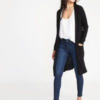 Super-Long Open-Front Sweater for Women |old-navy
