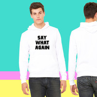Pulp Fiction Say What Again sweatshirt hoodie