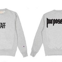 Justin Bieber Purpose Tour Merch Sweatshirt
