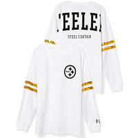 PINK Steelers Jerseys, Pullovers, V-Necks & Crews