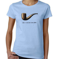 The Fault in Our Stars T-Shirt Ceci n'est pas une pipe