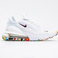 Nike Air MAX 270 back sole cushioned sneakers shoes