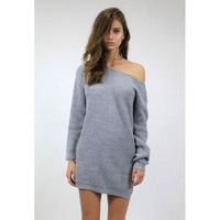 Boyfriend Knit Dress by Lioness