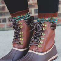 Weather the Storm Boot