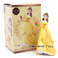 Princess Cinderella / Beauty and the Beast Belle Super Premium Figure Collectible Model Toy Doll Gift