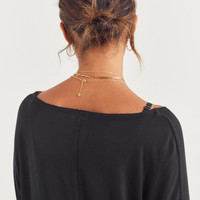 Silence + Noise Piper Surplice Top | Urban Outfitters