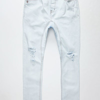 Crash Gamechanger Lost And Found Mens Straight Jeans Destructive  In Sizes