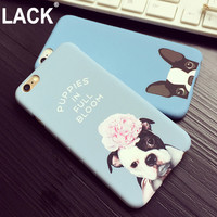 New Lovely Cartoon Pocket Dogs Phone Cases For Iphone 6 Case For Apple iphone6 6S 6 Plus 6SPlus 5 5S SE Animal dog Pattern Cover
