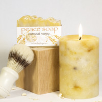 Candle & Soap Gift Set for Him