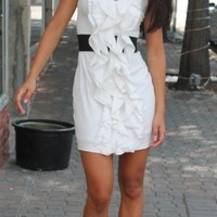 white dress, sleeveless, strapless, cocktail dress, party dress, affordable dress, fall 2012