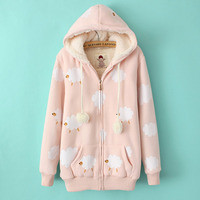 Pretty Sheep Coat from Asian fashion Kawaii